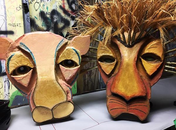 Lion King Masks SM