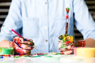 Painting as therapy image