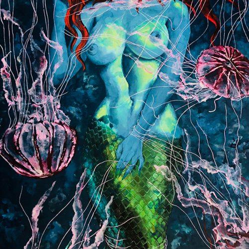 Electric Night by Heather Hodgeman