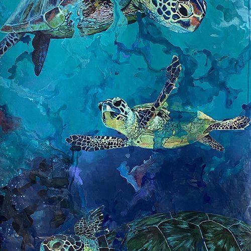 Underwater Galaxy by Heather Hodgeman