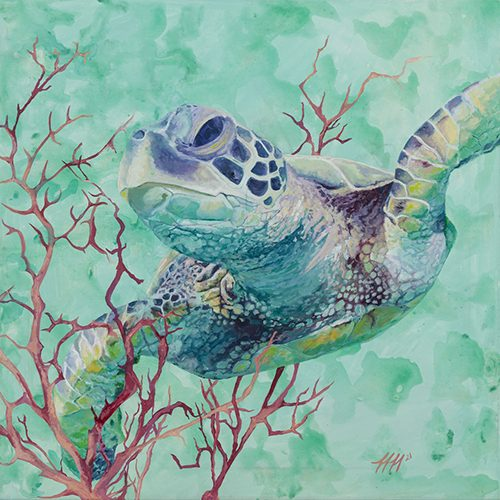 Peaceful Perseverance by Heather Hodgeman