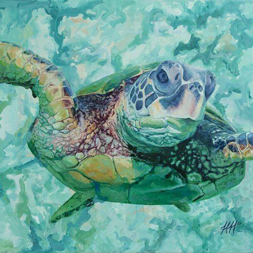 Flying Thru Water by Heather Hodgeman